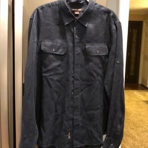 Men's Michael Kors linen shirt size L